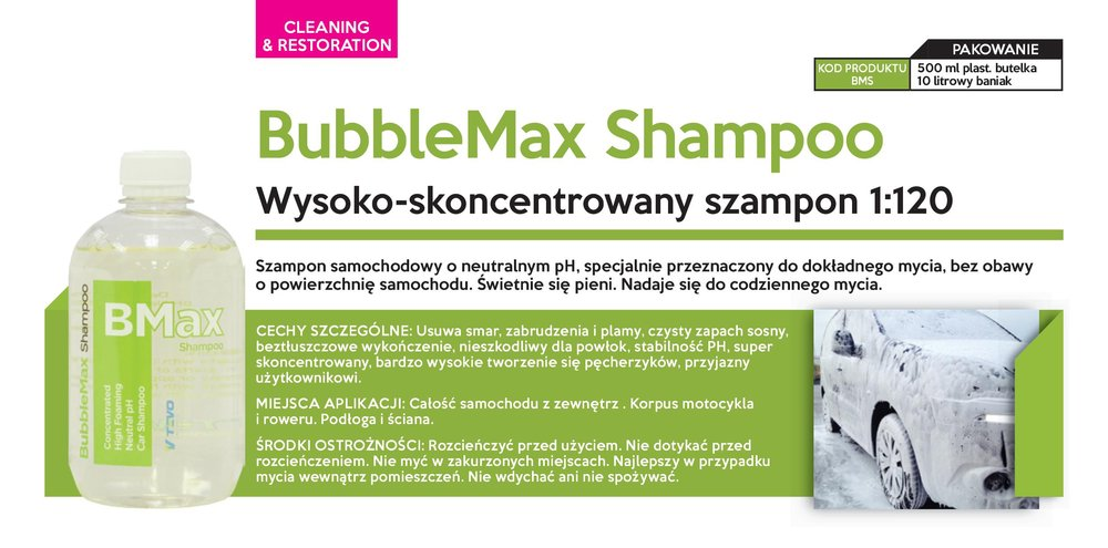 TEVO Bubble Max Shampoo 300ml